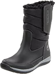 Timberland Snowville Pull-On Boot,Black,5 M US Toddler