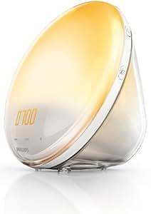 Philips - HF3520/01 - Eveil Lumière avec Lampe LED - Fonction Red Shift