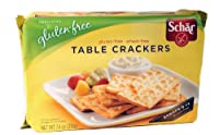 Schar Table Crackers Gluten Free, 7.4-Ounce (Pack of 3) by Schar