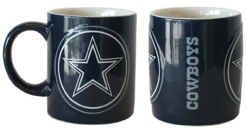 Dallas Cowboys Sculpted Warm Up Coffee Mug at Amazon.com