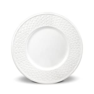 Amazon.com | Pfaltzgraff Basketweave Salad Plate - White: Salad Plates