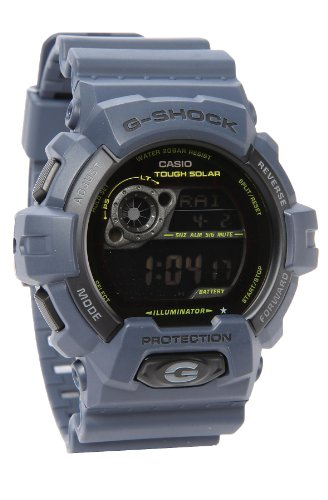 Casio G-Shock Tough Solar Navy Military Multi-Function Mens Watch GR8900NV-2