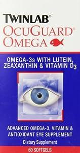 Twinlab Ocuguard Omega, 60 Softgels