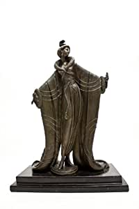 Bronze Erte Femme Deluxe Art Deco Reproduction