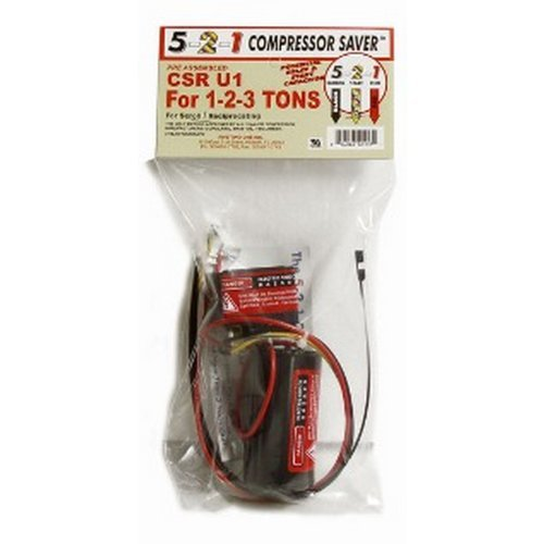 Compressor Saver CSR U1 Hard Start Capacitor (2 Tons Central Ac compare prices)