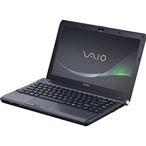 "VAIO VPCS132FX/B 13.3"" LED Notebook - Core i3 i3-380M 2.53 GHz - Black"