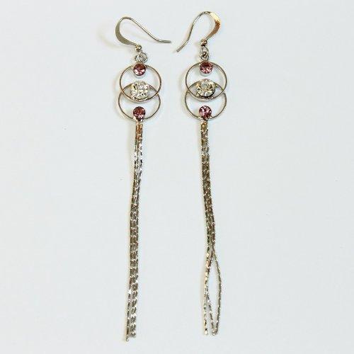 Custom Fashion Jewelry Earrings Purple