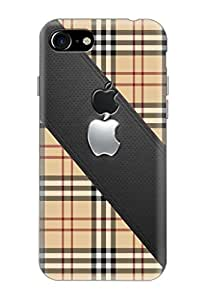 Apple IPhone 7 Covers, Logo Cut Cover, Designer Printed Back Case, Back Cover...