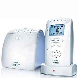 philips avent scd520 dect baby monitor with temperature sensor baby. Black Bedroom Furniture Sets. Home Design Ideas