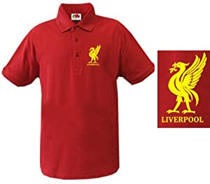 Liverpool Football Polo Shirt - All Sizes Available Medium