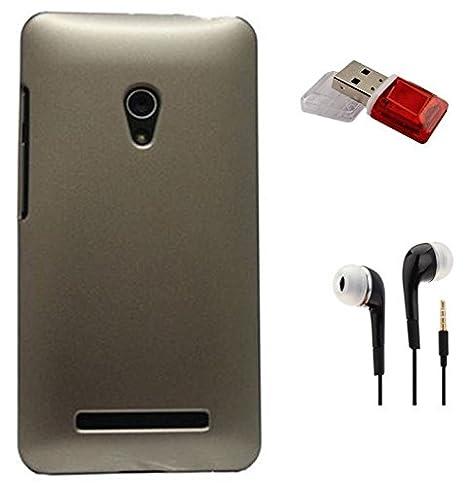 the best attitude 0b349 fa5ad TIDEL BACK COVER FOR ASUS ZENFONE 5 3.5MM HANDSFREE EARPHONE price ...