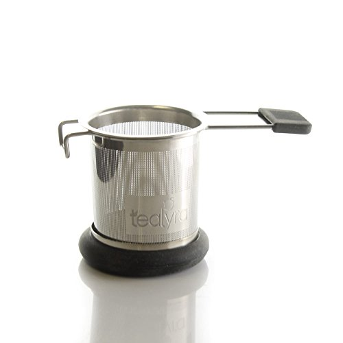 Buy Bargain makeTEA Stainless Steel Tea Strainer Infuser w/ Metal Dish