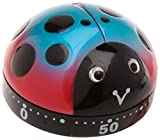 Splash Ladybird Design Kitchen Timer, Multi-Colour