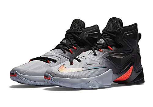 Men's Nike LeBron 13 XIII Basketball Shoes Wolf Grey 807219-060 (13) (All Lebron James Shoes compare prices)