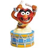 Westland Giftware Magnetic Ceramic Salt and Pepper Shaker Set, 4.5-Inch, Disney Muppets Animal on Drum, Set of 2