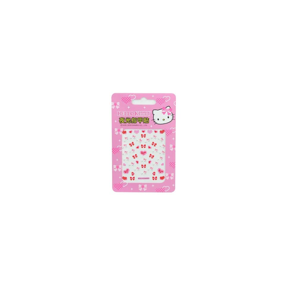 Hello Kitty Nail Art Stickers Hearts and Bows(2pk)