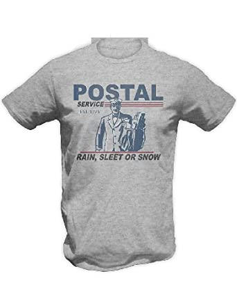 U.S. Postal Service Rain, Sleet or Snow Motto T-Shirt