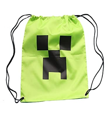 Minecraft Cinch Sack Backpack Creeper from Jinx