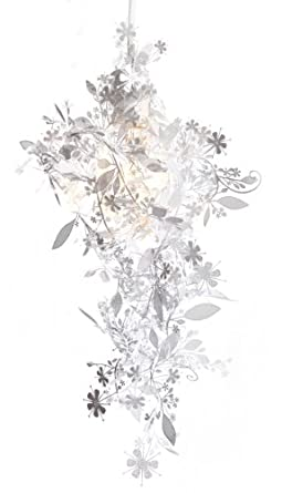 Garland Configurable Hanging Light, White Shade