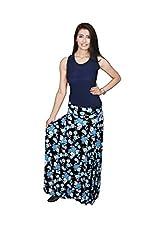 Carrol Printed Long Skirt