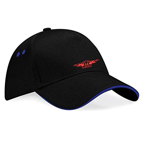 honda-auto-bestickte-baseball-cap-mutze-k82-schwarz-blau