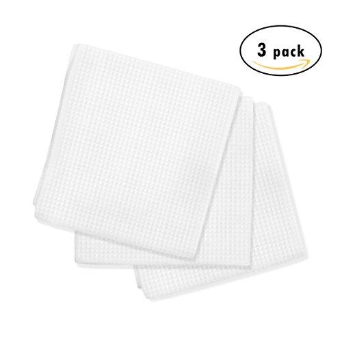 Microfiber Dish Rags: Luxe Home Essentials Microfiber Kitchen Dish Towels- Super