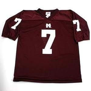 Amazon Com Mississippi State Bulldogs  Football Jersey Men L