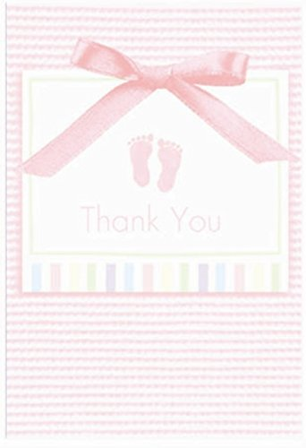 Soft Pink Thank You Note's (8ct)