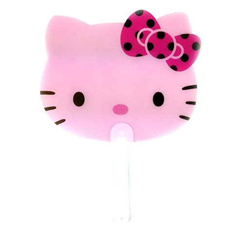 Sanrio-Hello-Kitty-Face-Plastic-Portable-Hand-Fan-1PC