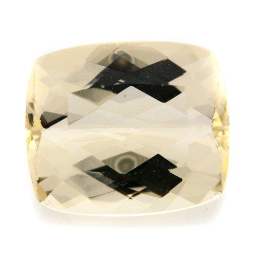Natural Africa Yellow Labradorite Gemstone Cushion Cut 8.45cts 14*12mm Stunning