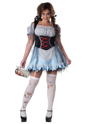 InCharacter Costumes Women's Zombie Beer Maiden Costume