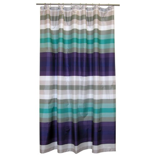 Famous Home Fashions Martinique Fabric Shower Curtain Shower Curtains Outlet Shower Curtains