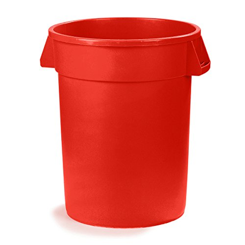 Ultrasource 509322 waste container 20 gal red home garden household supplies containment - Garden waste containers ...