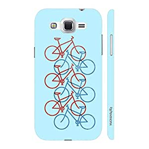Enthopia Designer Hardshell Case Love Cycling Back Cover for Samsung Galaxy J2 (2016)