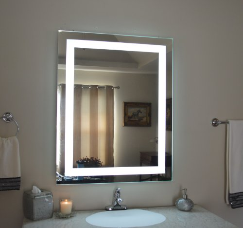 Wall Mounted Lighted Vanity Mirror Mam83236 Commercial