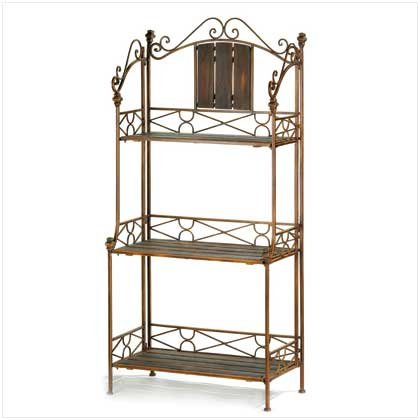 Zingz & Thingz Provincial Baker's Rack
