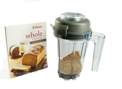 Vitamix 32-ounce Dry Grains Container. With Dry Blades, Lid, Mini-TAMPER and Recipe BOOK. BPA-free Eastman Tritan® Copolyester. (Vitamix Mini Blender compare prices)