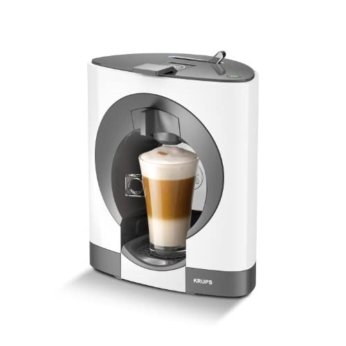 NESCAFÉ Dolce Gusto Oblo Coffee Capsule Machine by Krups - White