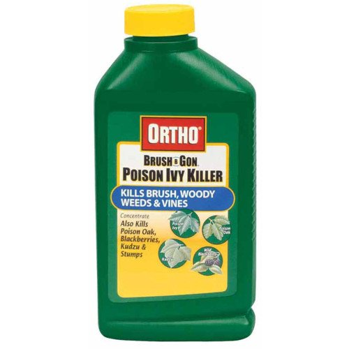 Ortho 0432960 Max Poison Ivy Tough Brush Killer Concentrate, 32-Ounce