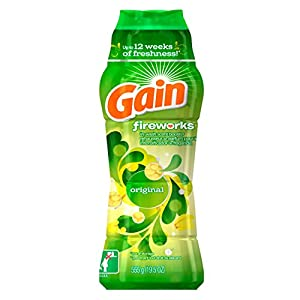 Gain Fireworks In-Wash Scent Booster, Original Scent, 19.5oz
