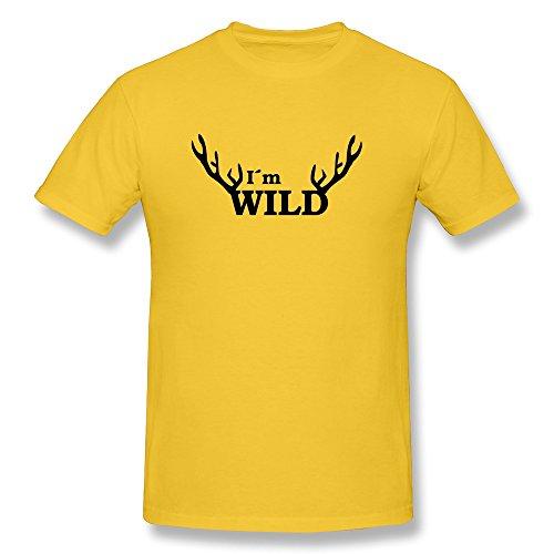 Im Wild Men'S Fitted Wonder T-Shirt - Ultra Cotton front-78686