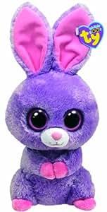 TY 36959 - Petunia Buddy - Hase, Beanie Boos - Glubschis, Plüsch, 24 cm, violett