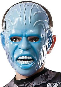 [Rubie's Costume Men's The Amazing Spider-Man 2 Electro 3/4 Adult Mask] (Jeepers Creepers 2 Costume)