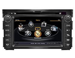 See SDB Car DVD Player With GPS Navigation(free Map) For Kia Ceed 2010,2011 Audio Video Stereo System with Bluetooth Hands Free, USB/SD, AUX Input, Radio(AM/FM), TV, Plug & Play Installation Details