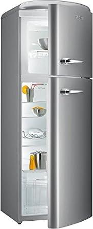 Gorenje RF60309OX Autonome Acier inoxydable 229L 65L A++ - réfrigérateurs-congélateurs (Autonome, Acier inoxydable, Placé en haut, A++, SN, ST, T, Non, LED)