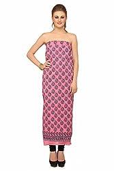Chippa Studio Women Cotton Dress Material (Csk340 _Pink _2)