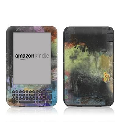 Let The Games Begin Design Protective Decal Skin Sticker For Amazon Kindle Keyboard / Keyboard 3G (3Rd Gen) E-Book Reader - High Gloss Coating