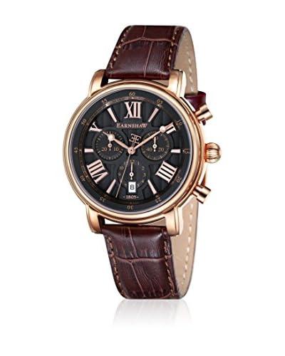 Thomas Earnshaw Reloj de cuarzo Longcase 43 ES-0016-04 Marrón 43 mm