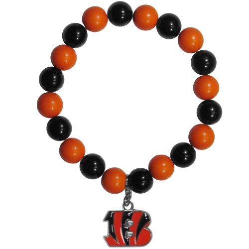 Nfl Cincinnati Bengals Fan Bead Bracelet, Medium