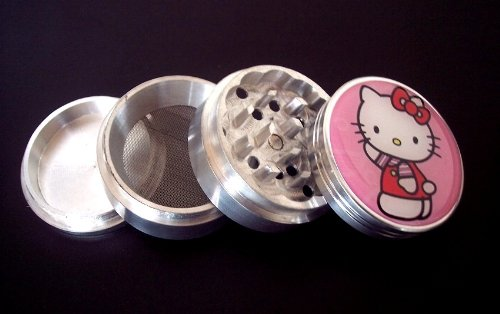 Hello Kitty 4 Piece Grinder Herb Spice Tobacco GH1